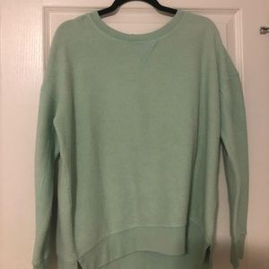 American Eagle Mint Green Crewneck Sweater